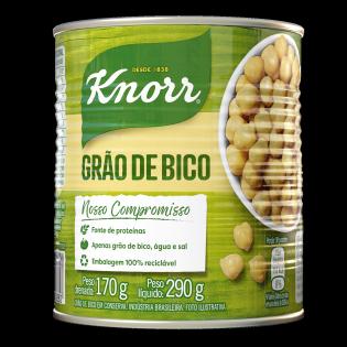Grão de Bico em Conserva Knorr