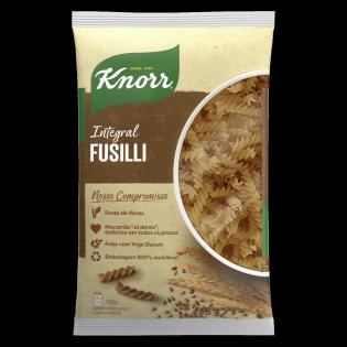 Macarrão Knorr Fusilli Integral