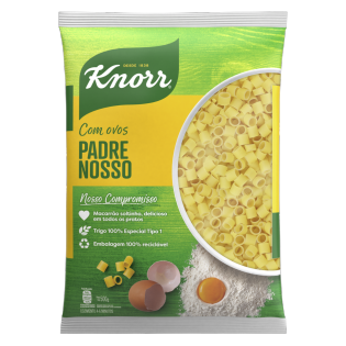 Macarrão Knorr Padre Nosso Sêmola com Ovos