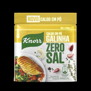 Caldo em Pó Knorr Zero Sal™ Galinha