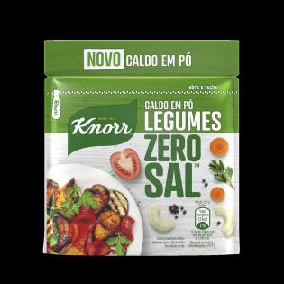 Caldo em Pó Knorr Zero Sal™ Legumes