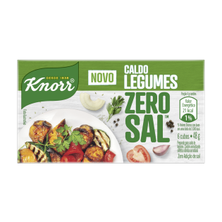 Caldo Knorr Zero Sal™ Legumes