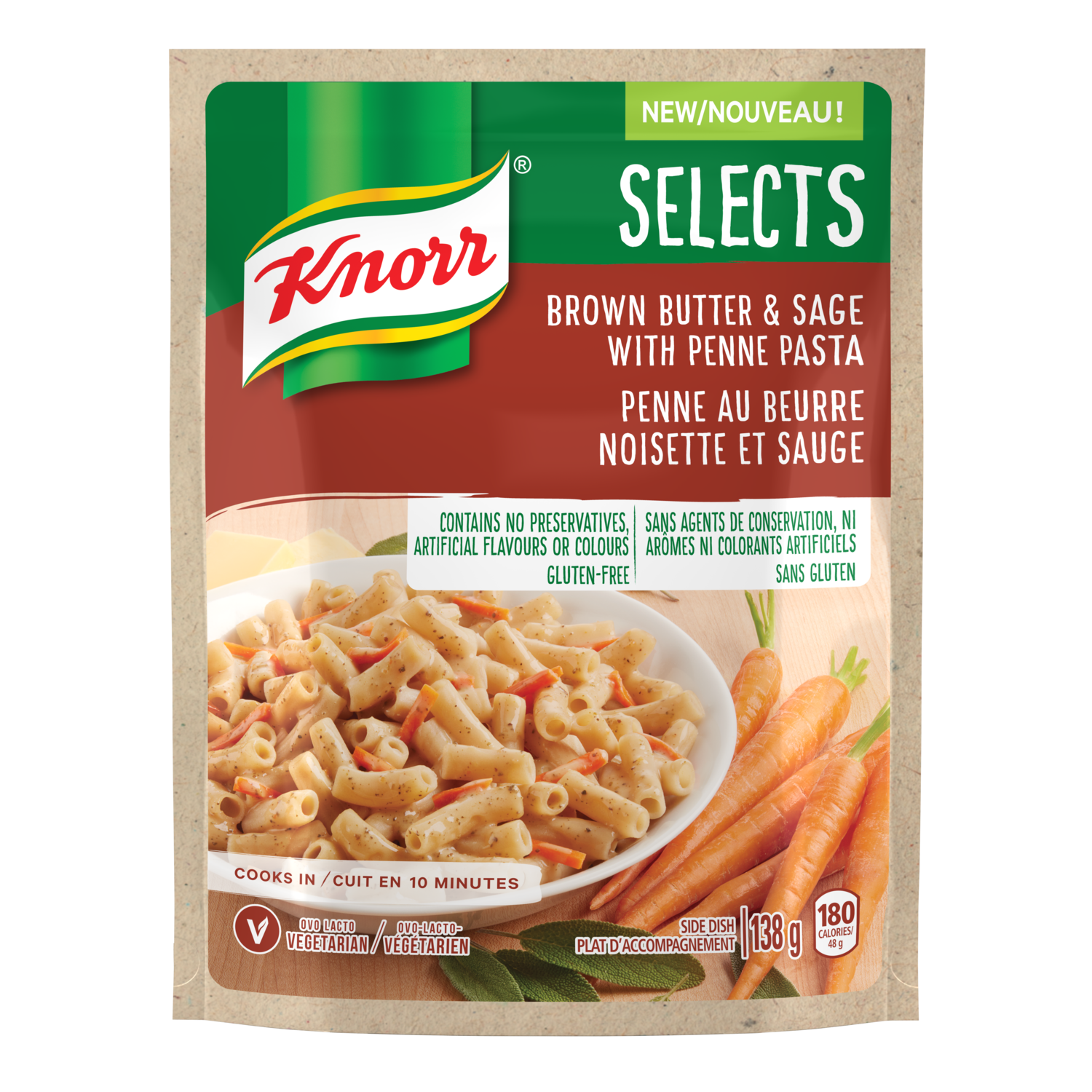 Selects Brown Butter Amp Sage With Penne Pasta Knorr 174