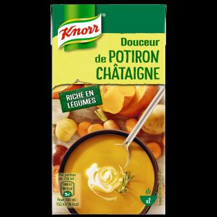 Soupe Douceur de Potiron Chataigne   Knorr