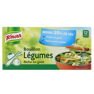 Bouillon Légumes Réduit en Sel | Knorr