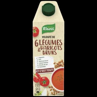 Velouté de 6 légumes haricots bruns Et c'est tout! | Knorr
