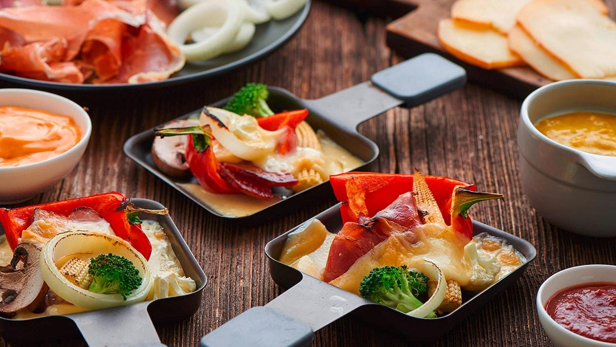 raclette fondue rezepte knorr deutschland. Black Bedroom Furniture Sets. Home Design Ideas