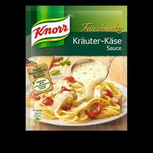 KNORR Feinschmecker Kräuter Käse Sauce