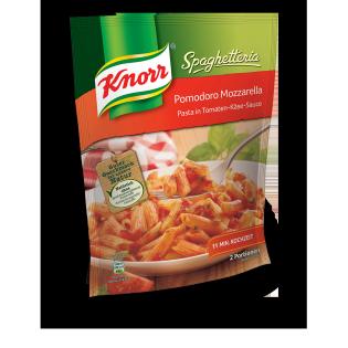 KNORR Spaghetteria Pomodoro Mozzarella Pasta in Tomaten-Käse-Sauce