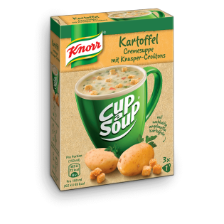 Knorr Cup a Soup Kartoffel Cremesuppe mit Knusper-Croûtons