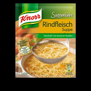 Knorr Suppenliebe Rindfleischsuppe