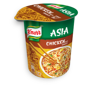 KNORR Asia Snack Becher Chicken Noodles