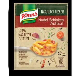 Knorr Natürlich Lecker! Nudel-Schinken Auflauf