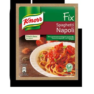 KNORR Fix für Spaghetti Napoli