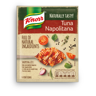 Naturally Tasty Tuna Napolitana