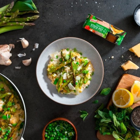 Baked Spring Veg Risotto