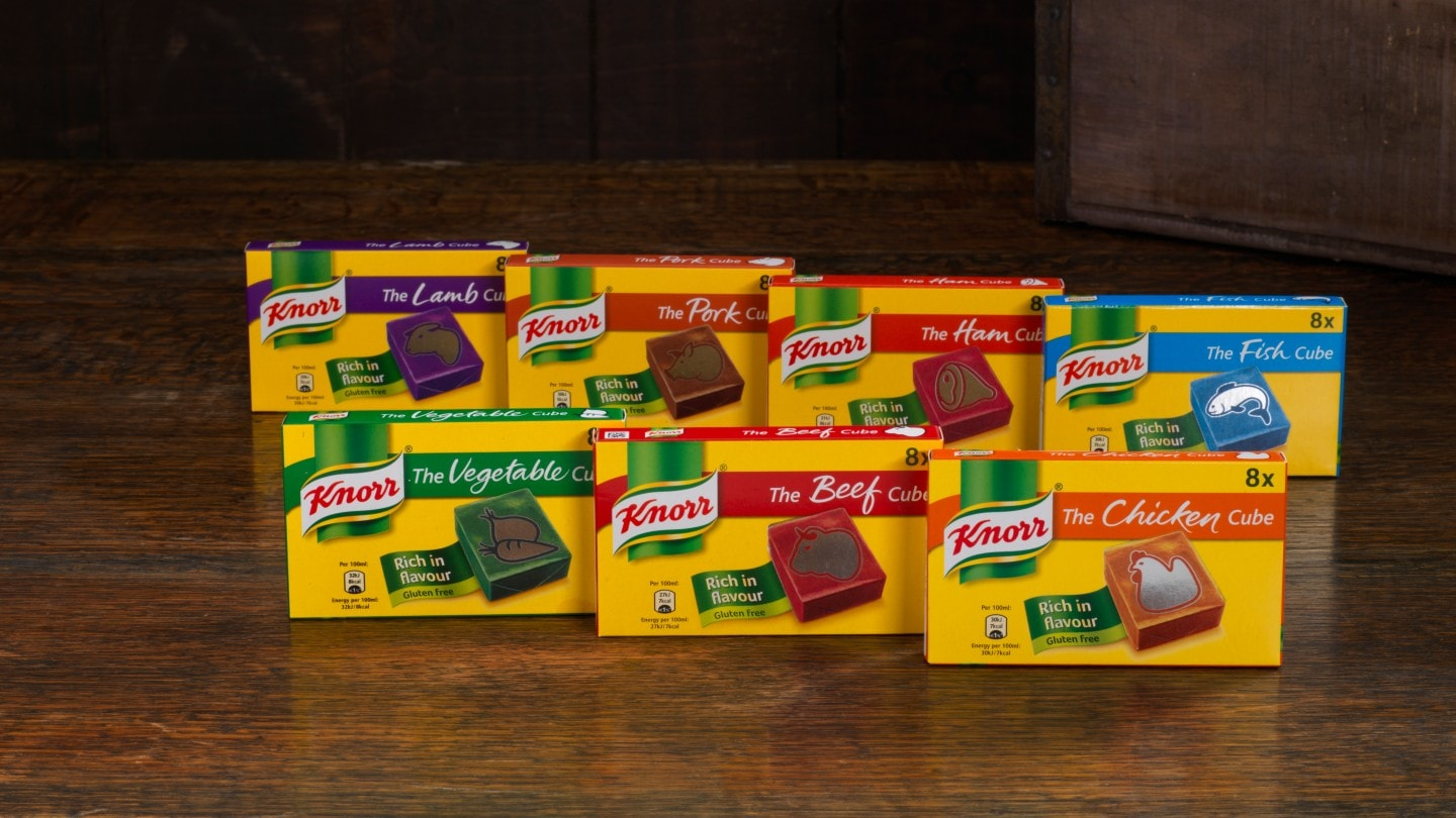 how to use knorr chicken cubes
