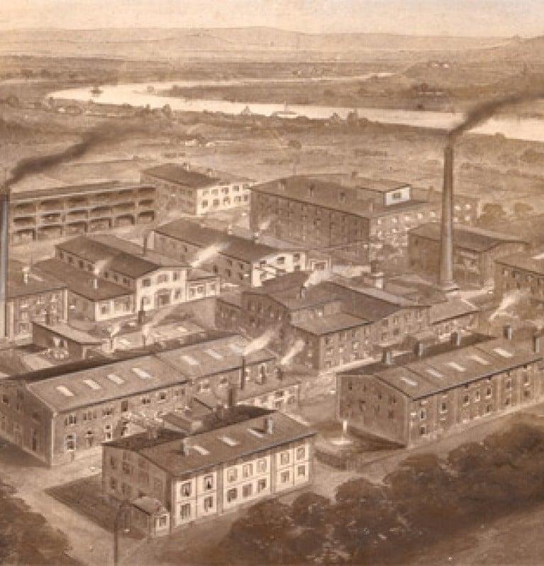 Knorr factory in Heilbronn, Germany