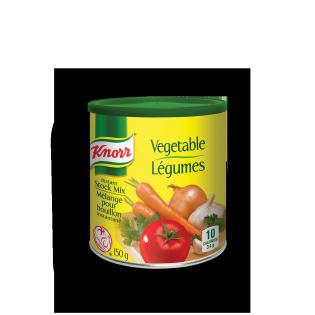 Légumes bouillons instantanés