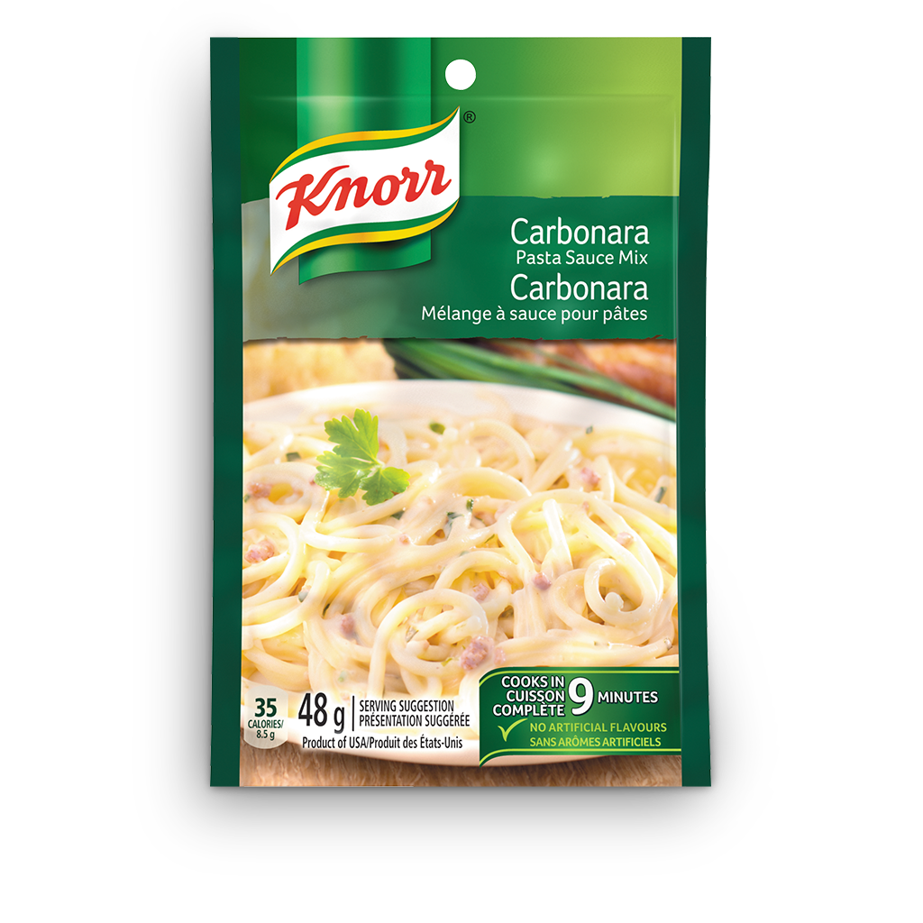 Spaghetti Carbonara Knorr