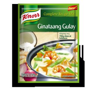 Knorr ginataang gulay Recipe Mix