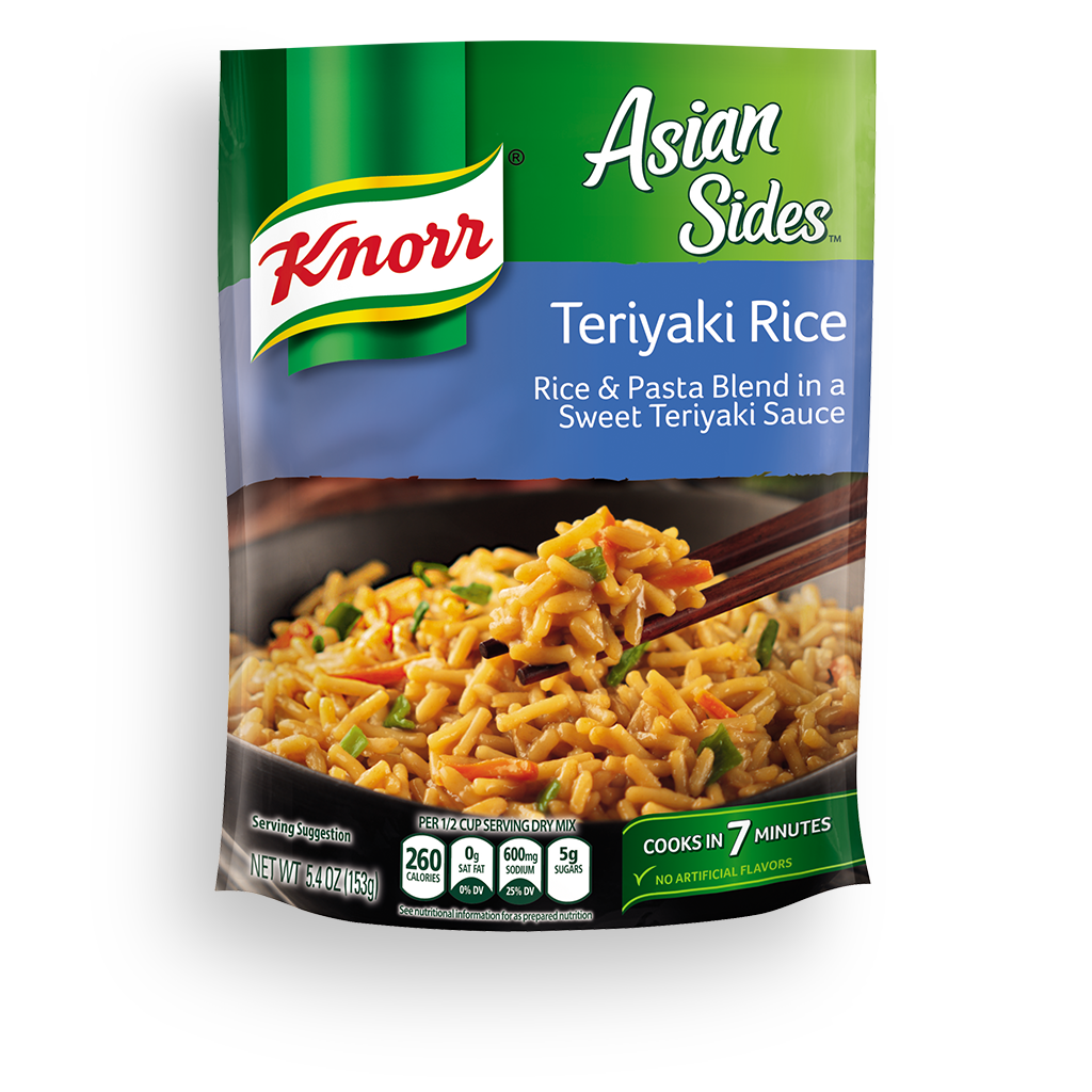 Knorr 174 Asian Sides Teriyaki Rice