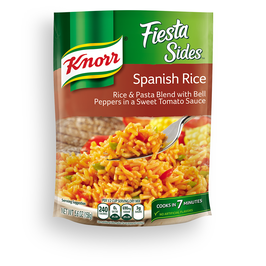 knorr fiesta sides spanish rice. Black Bedroom Furniture Sets. Home Design Ideas