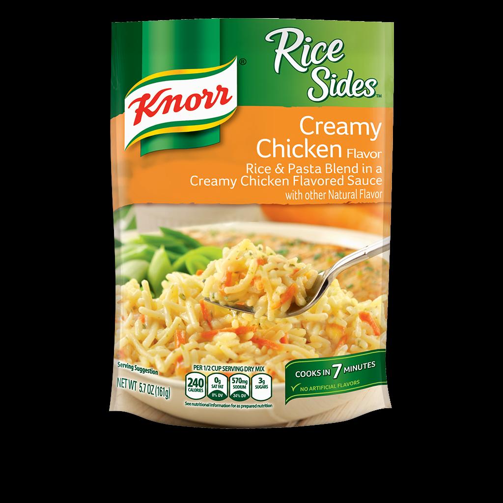 Knorr 174 Rice Sides Creamy Chicken Rice