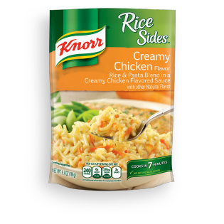 Knorr 174 Rice Sides Creamy Chicken Rice