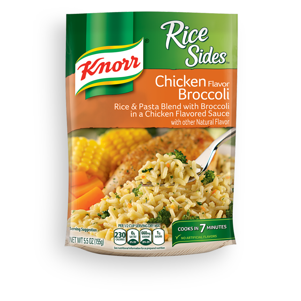Rice A Roni Cheddar Broccoli Nutrition Facts-1492