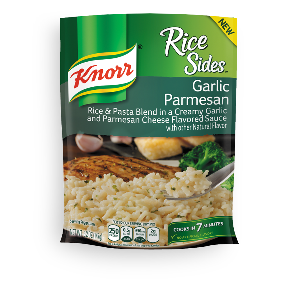 Knorr 174 Rice Sides Garlic Parmesan Rice