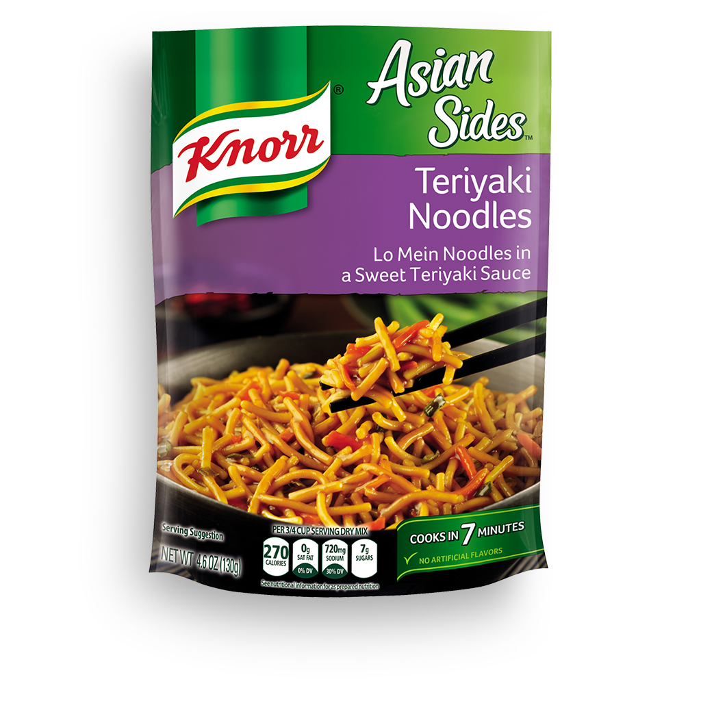 Knorr 174 Asian Sides Teriyaki Noodles