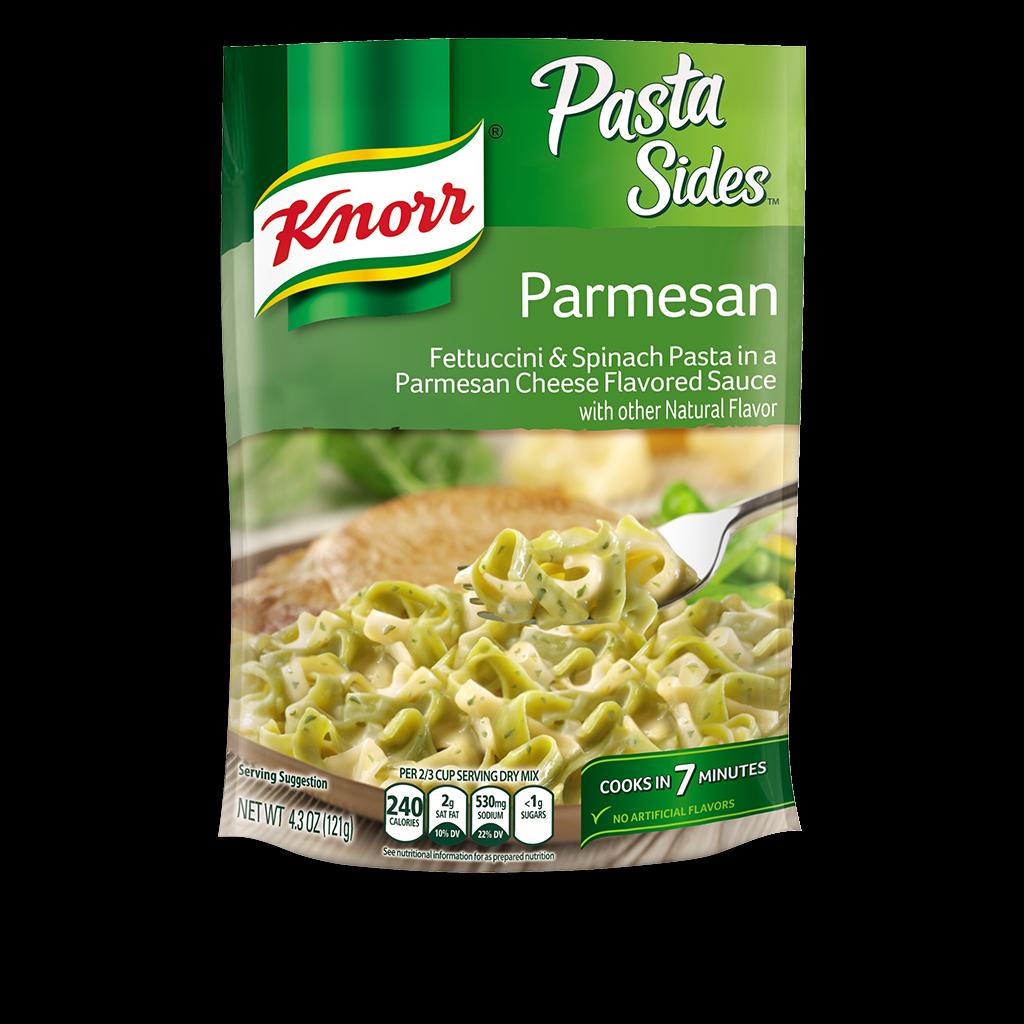 Knorr 174 Pasta Sides Parmesan Amp Spinach Fettuccini Knorr Us