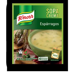 Sopa Crema de Espárragos