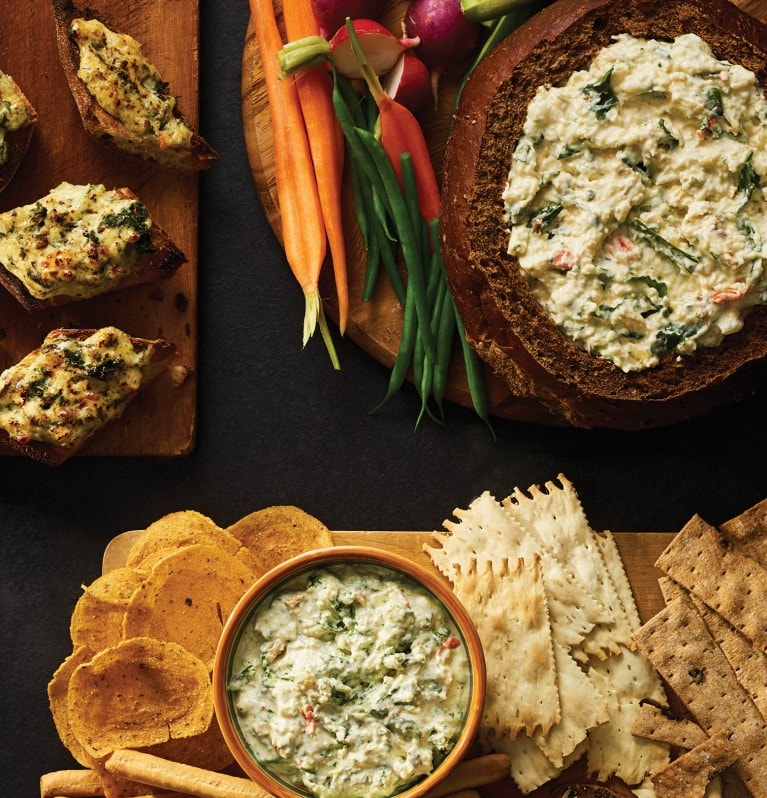 A trio of dips