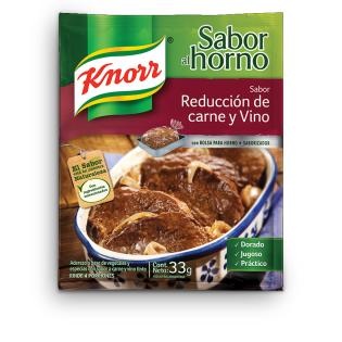 Knorr sabor al Horno Reduccion de Carne y Vino