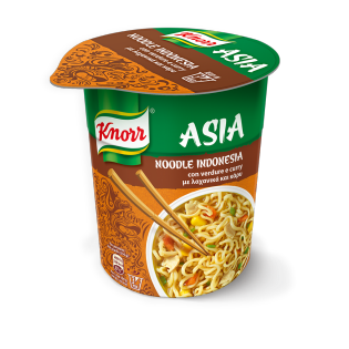 Cup Noodle Indonesia verdure e curry