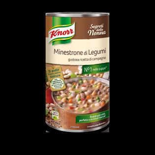 Minestrone di Legumi gustosa ricetta di campagna