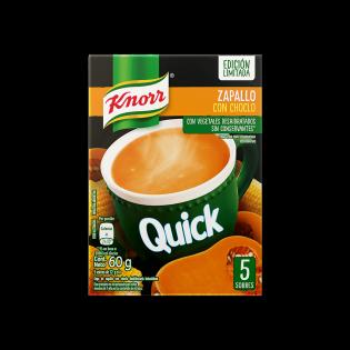 Sopa Quick de Zapallo con choclo