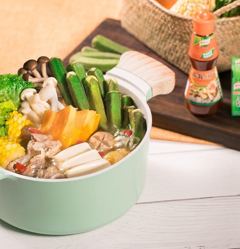 麻辣豬骨風味鍋,家樂牌,菜譜,食譜