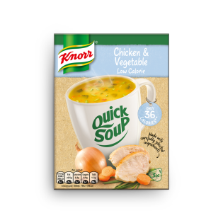 Quick Soup Low Calorie Chicken and Vegetable