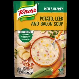 Potato Leek and Bacon Soup