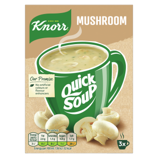 Quick Soup Mushroom