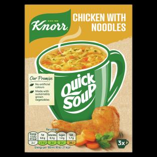 Quick Soup Chicken Noodle