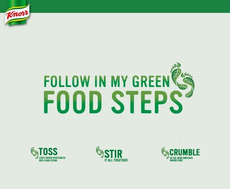 Knorr Green Food Steps