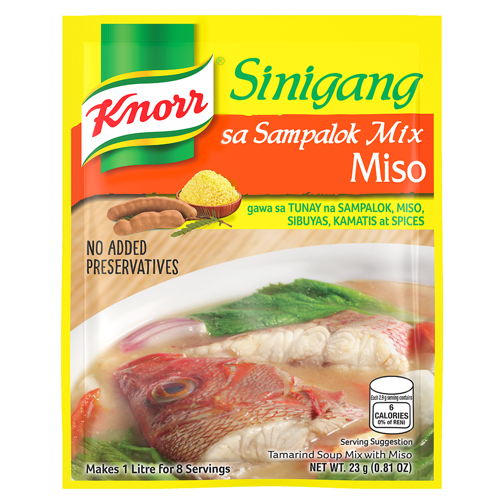 Knorr Sinigang Na May Miso Knorr