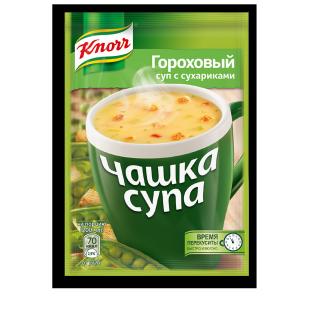 Knorr сайт пэкшот Гороховый
