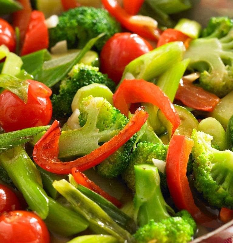 Frische Gemüsepfanne