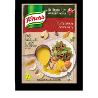 KNORR Natürlich Fein! Curry Sauce