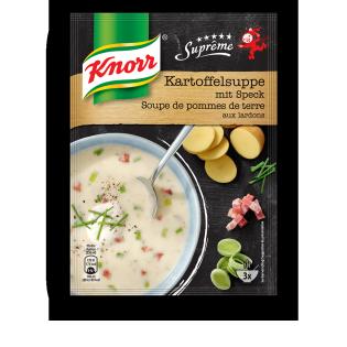 KNORR Suprême Kartoffelsuppe mit Speck